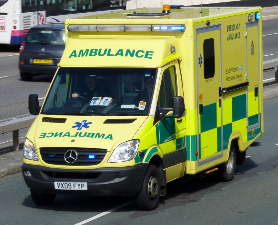 South Western Ambulance VX09FYP